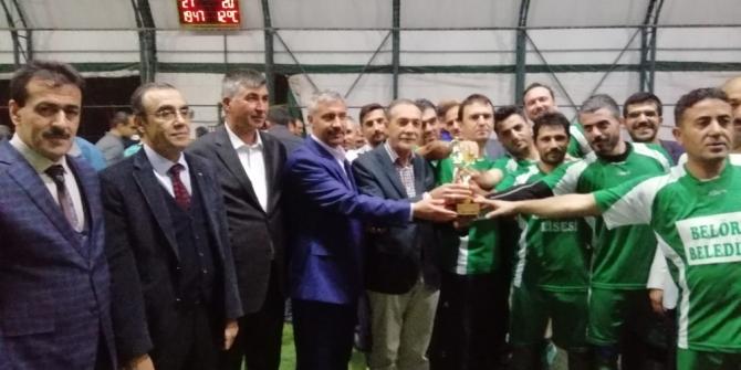 15 Temmuz şehitleri ve gazileri futbol turnuvası sona erdi