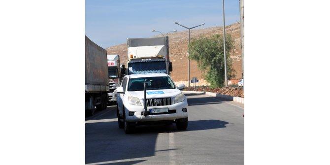 BM'nin Suriye'ye insani yardımları devam ediyor