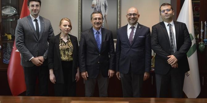 TÜYAP'tan Başkan Ataç'a ziyaret