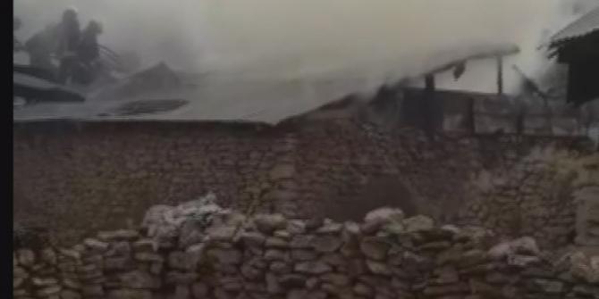 Suşehri'nde ki yangın korkuttu
