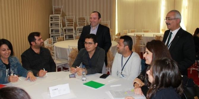 Tübitak bilim fuarları proje eğitim çalıştayı yapıldı