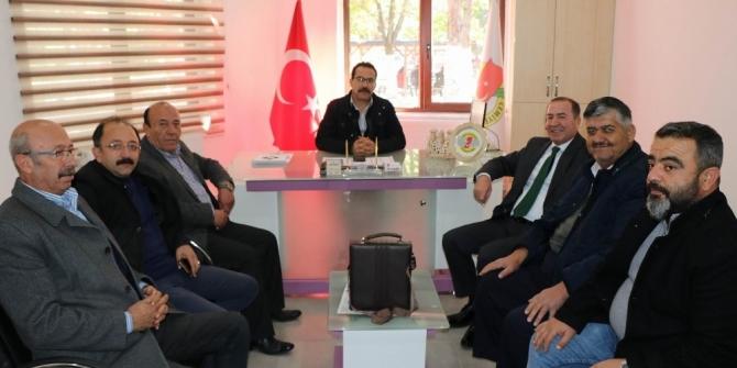 CHP Ürgüp Belediye Başkan adayı Ödemiş, Gazeteciler Cemiyeti'ni ziyaret etti