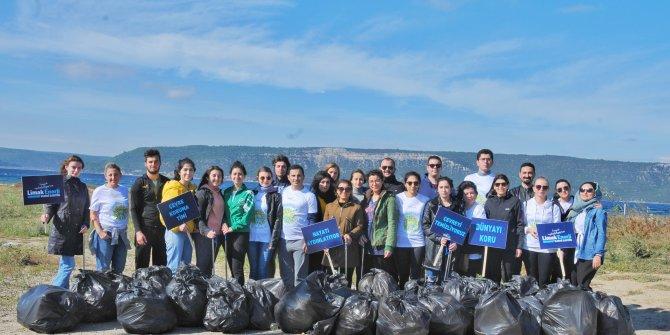 Limak Enerji Çevre Timi, Çanakkale'de temizlik çalışması yaptı