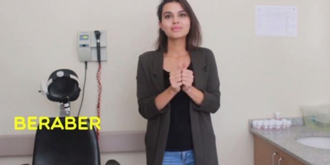 Sağlık çalışanlarından lösemili çocuklara videolu destek
