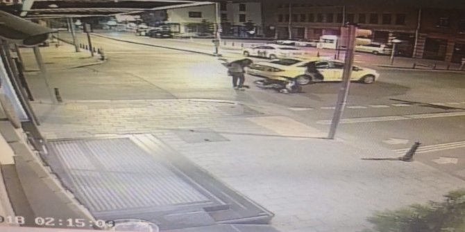 Brezilyalı turistlere takside gasp dehşeti