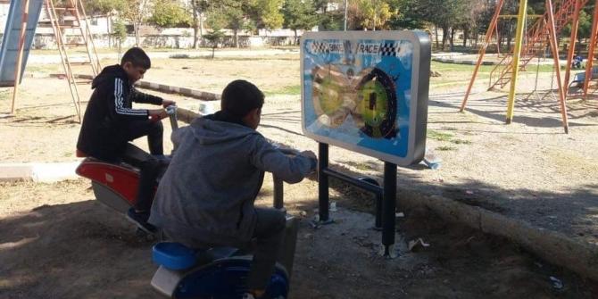 Bolvadin Adalet Parkına yeni nesil oyun grubu