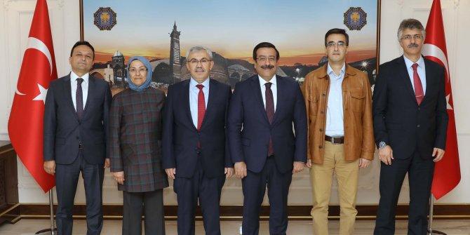 Adalet Bakanlığı yetkililerinden Diyarbakır Büyükşehir'e ziyaret