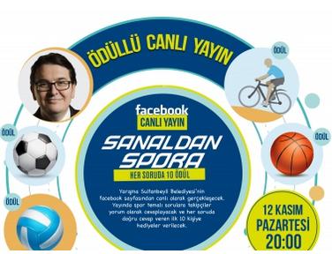 Sultanbeyli Belediyesi'nin 'Sanaldan Spora' adlı programı çok yakında başlıyor