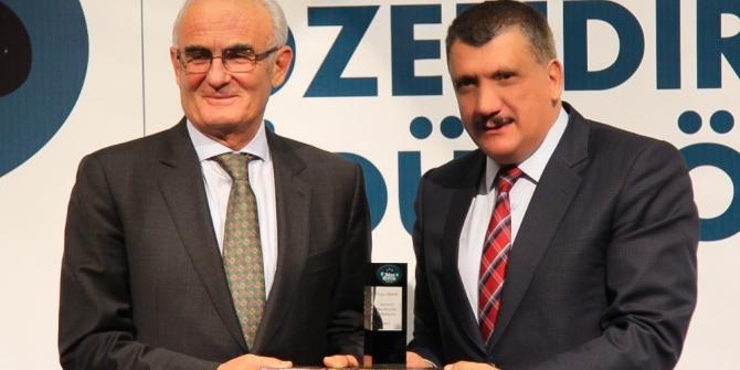 Gürkan, hizmetlerini ödüllerle taçlandırmaya devam ediyor