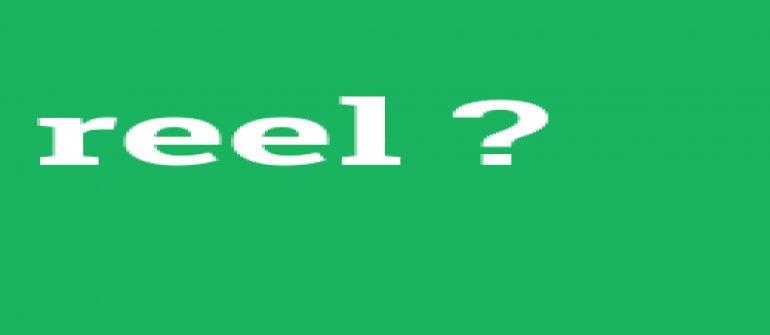 Reel ne demek? Reel kelimesinin anlamı nedir? Reel görüşme nedir?