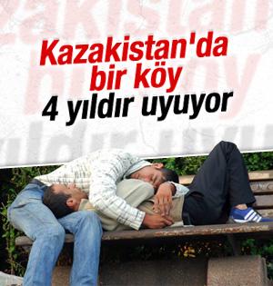 Kazakistan'ın Kalachi köyünde yaşayanlar 4 yıldır uyuyor