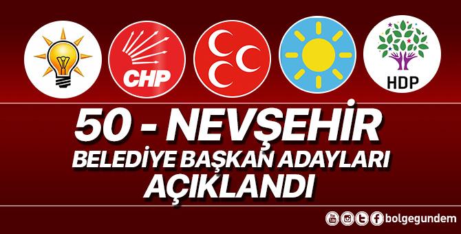2019 Nevşehir Belediye başkan adayları belli oldu – 2019 Nevşehir yerel seçim adayları