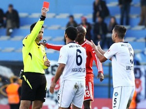 Beşiktaş maçında görülmemiş olay!