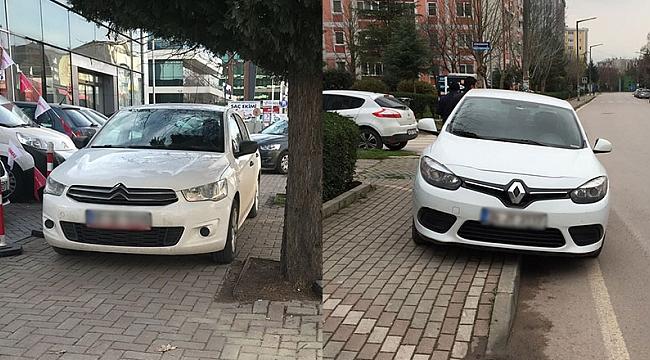 Kaldırımlara park cezası mı geliyor?