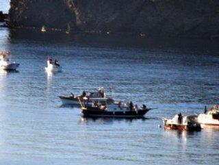 Türk SAT Botunu Gören Yunanlılar Kaçtı