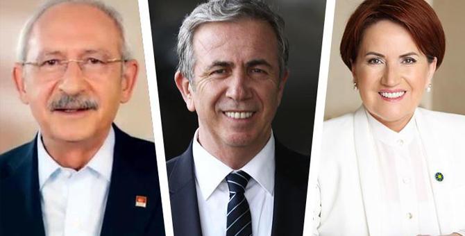 Kılıçdaroğlu, Akşener ve Mansur Yavaş ile görüşecek