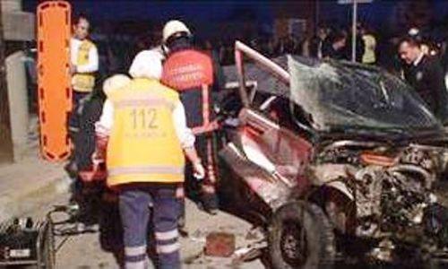 Tuzla'da Trafik Kazası