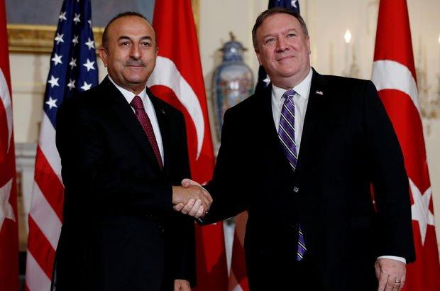 Çavuşoğlu ve Pompeo ABD'nin Suriye'den çekilme kararını görüştü