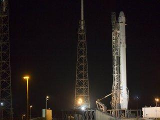 SpaceX'den tarihi roket denemesi