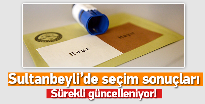 Sultanbeyli Referandum Sonucu