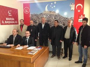 Saadet Pendik'ten Mardin'e Ziyaret