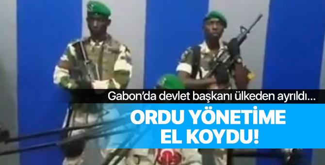 Afrika ülkesi Gabon'da darbe!