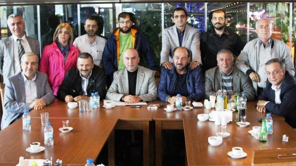 AYGAD Başkanı Kahyaoğlu'ndan Gazeteciler Günü kutlaması