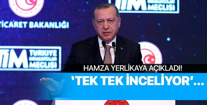 Hamza Yerlikaya Açıkladı: Erdoğan Anbean İnceliyor!