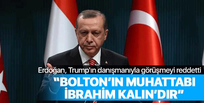 Erdoğan görüşmeyi kabul etmedi, Trump'ın danışmanı Türkiye'den ayrılıyor