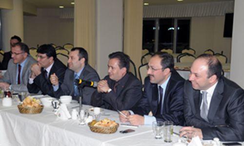 Başkan Yardımcıları Tuzla'da toplandı