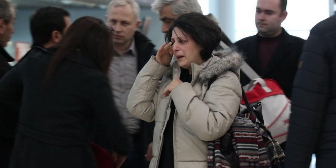 Ukrayna'da öldürülen öğrencilerin cenazeleri Türkiye'ye gönderildi (2)
