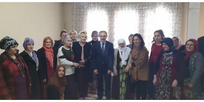 Başkan Vekili Epcim'in ev ziyaretleri devam ediyor