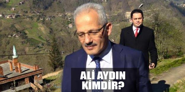 AK Parti Trabzon Köprübaşı Belediye Başkan adayı Ali Aydın kimdir?