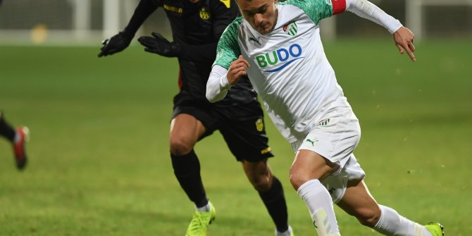 Evkur Yeni Malatyaspor hazırlık maçında Bursaspor'u farklı geçti