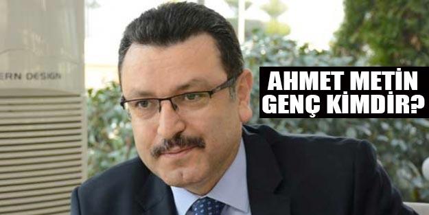 AK Parti Trabzon Ortahisar belediye başkan adayı Ahmet Metin Genç kimdir?