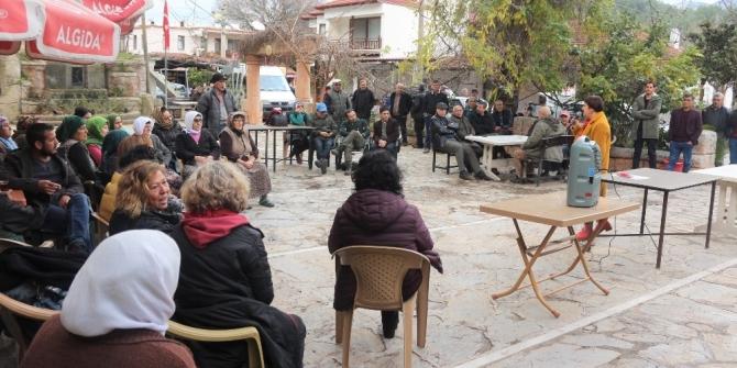 Köy meydanında beslenme ve kanser arasındaki ilişki anlatıldı