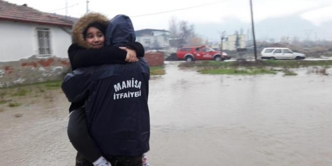 Manisa'da metrekareye 203 kilogram yağış düştü