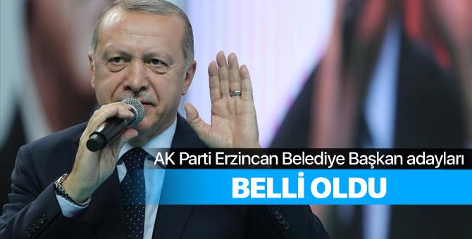 2019 AK Parti Erzincan Belediye Başkan adayları belli oldu - Erzincan yerel seçim adayları