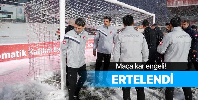 Boluspor - Galatasaray maçı hangi tarihe ertelendi?