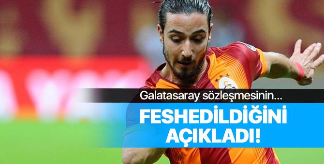 Galatasaray Tarık Çamdal'ın sözleşmesinin feshedildiğini açıkladı