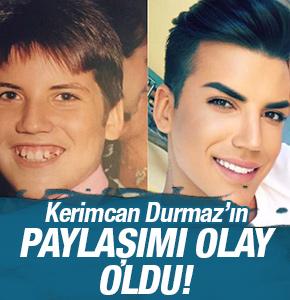 Kerimcan Durmaz'ın 10 yıl önceki fotoğrafını görenler şaşkınlık yaşadı