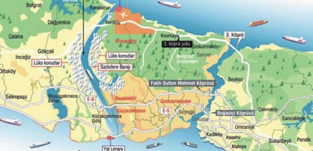 Kanal İstanbul'da çevreye duyarlı nüfus yoğunluğu planı