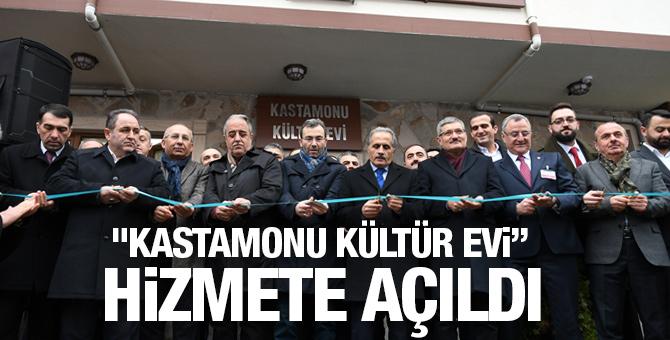 """""""Kastamonu Kültür Evi"""" hizmete açıldı"""