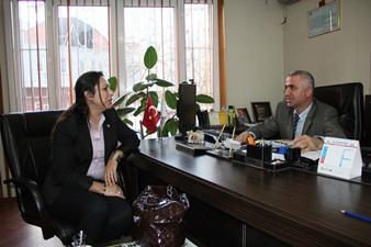 Nur Özgen'den Gazetemize Ziyaret