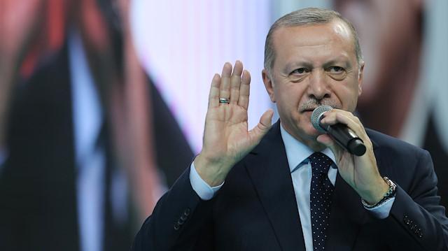 Erdoğan, Sandık Başkanları toplantısında konuştu
