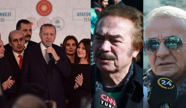 Ünlüler camiası  hayran kaldı! Erdoğan'a Büyük medhiye