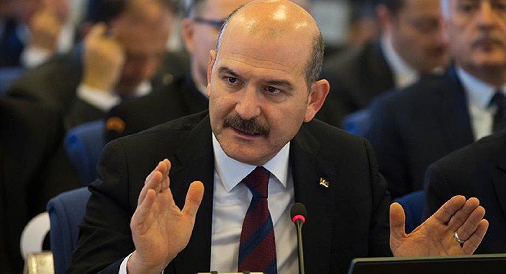 İçişleri Bakanı Soylu: Bir hafta önce bomba yüklü araç yakaladık