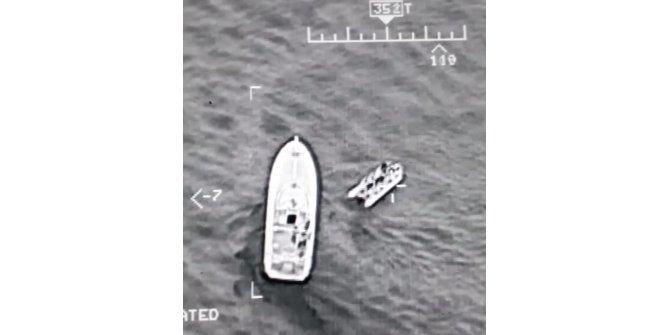 Havadan tespit edilen kaçaklar yakalandı