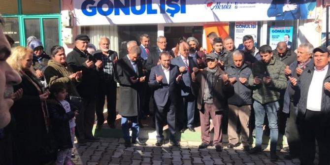 Akseki Cevizli'de AK Parti SKM açıldı