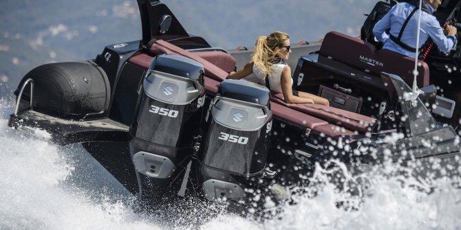 Suzuki, iki modeliyle Boat Show'da